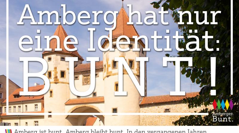 Ambergs einzige Identität: BUNT!